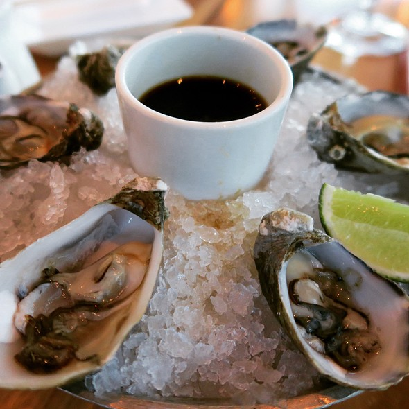 Kumamoto Oysters With Chili Ponzu Sauce - BARMASA - Aria, Las Vegas, NV