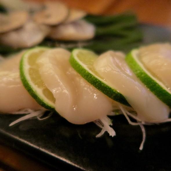 Hokkaido Scallop Sashimi - BARMASA - Aria, Las Vegas, NV