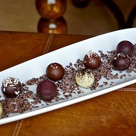 Chocolate Bonbons - Ristorante Cavour at the Hotel Granduca, Houston, TX