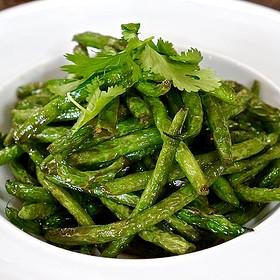 Fried Green Beans - Underbelly, Houston, TX