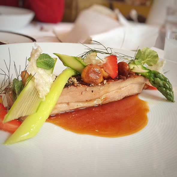 Pork Belly - Hélène Darroze at the Connaught, London