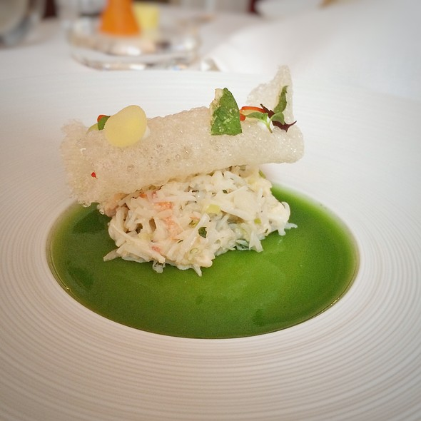crab - Hélène Darroze at the Connaught, London