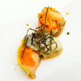 Foie Gras Oyster Scallop - Yellowtail - Bellagio Hotel, Las Vegas, NV