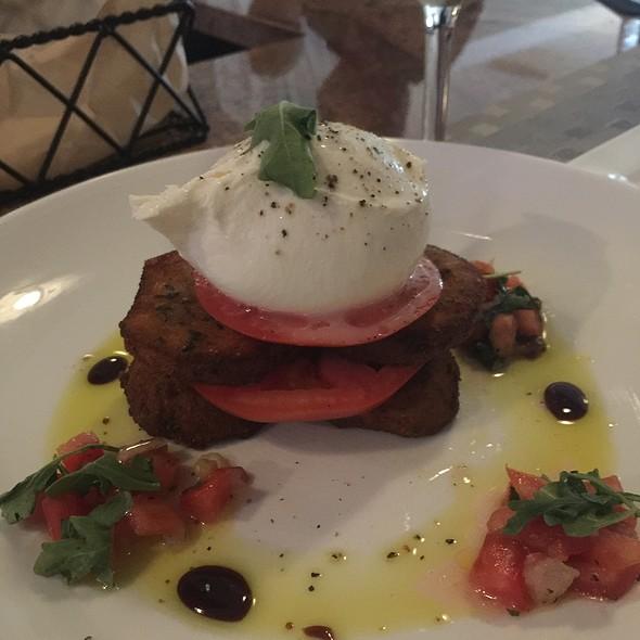 Burrata With Fried Eggplant - La Tavola Trattoria, Atlanta, GA