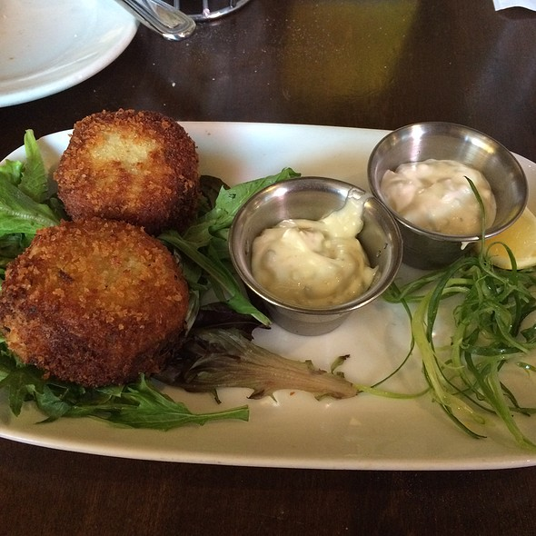 Panko Crusted Crab Cakes - The Standard Restaurant & Lounge, Albany, NY