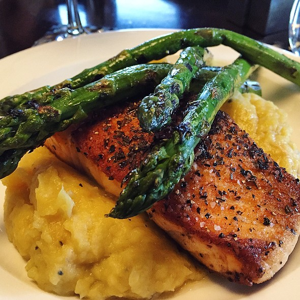 Grilled Salmon Over Mash - Lattitude (West Springfield, Massachusetts), West Springfield, MA