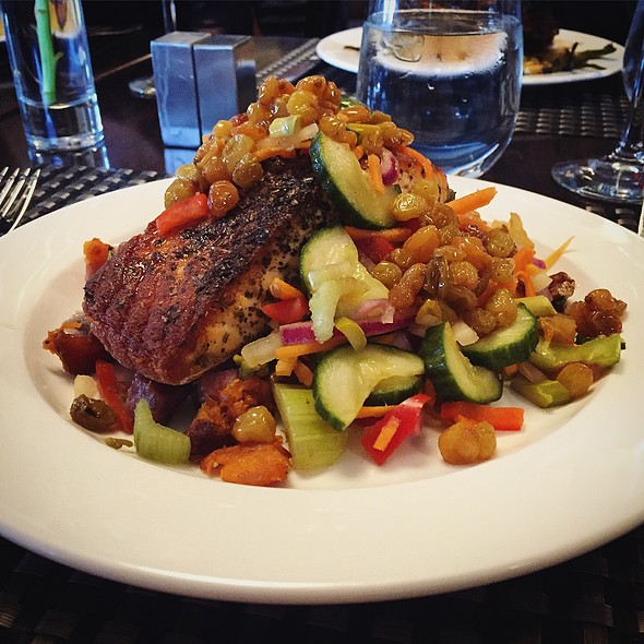 Salmon & Pickled Vegetables - Lattitude (West Springfield, Massachusetts), West Springfield, MA