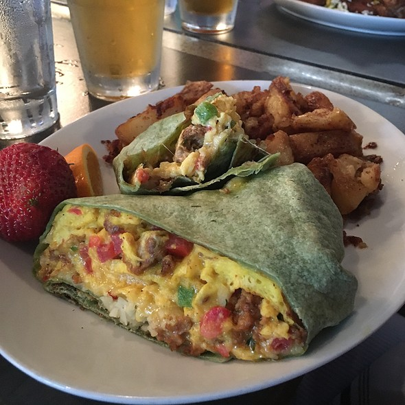 Queso Fundido Egg Burrito - Public House, Chicago, IL