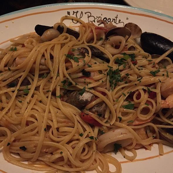 Seafood Pasta - Il Brigante Restaurant, New York, NY