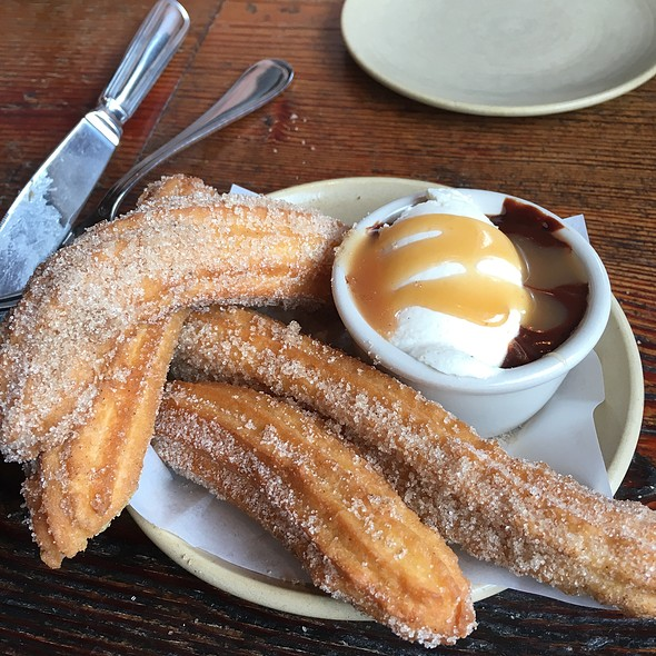 Churros con Chocolate - Terra Plata, Seattle, WA