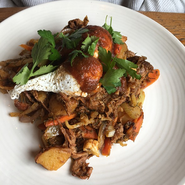 Roast Pork Hash - Terra Plata, Seattle, WA