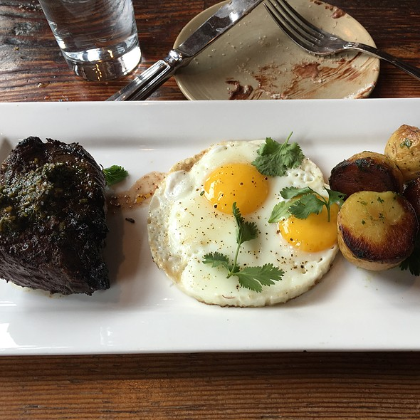 Steak & Eggs - Terra Plata, Seattle, WA