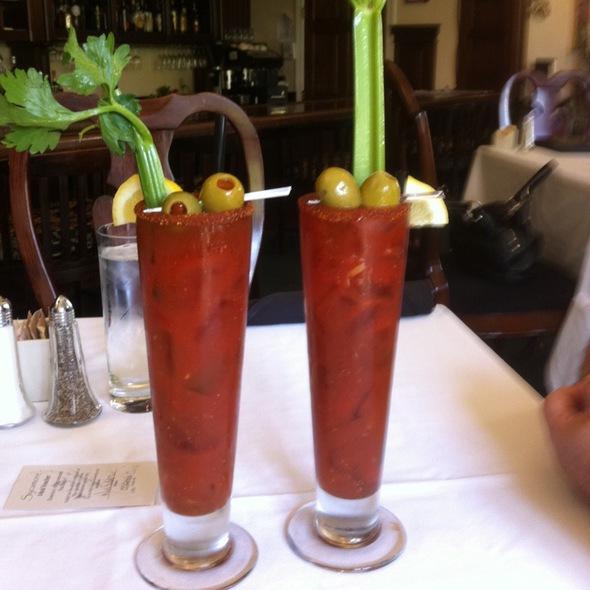 Bloody Marys - Gardens of Avila Restaurant, San Luis Obispo, CA