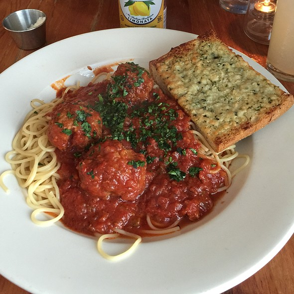 Spaghetti & Meatballs - The Park Restaurant, Los Angeles, CA