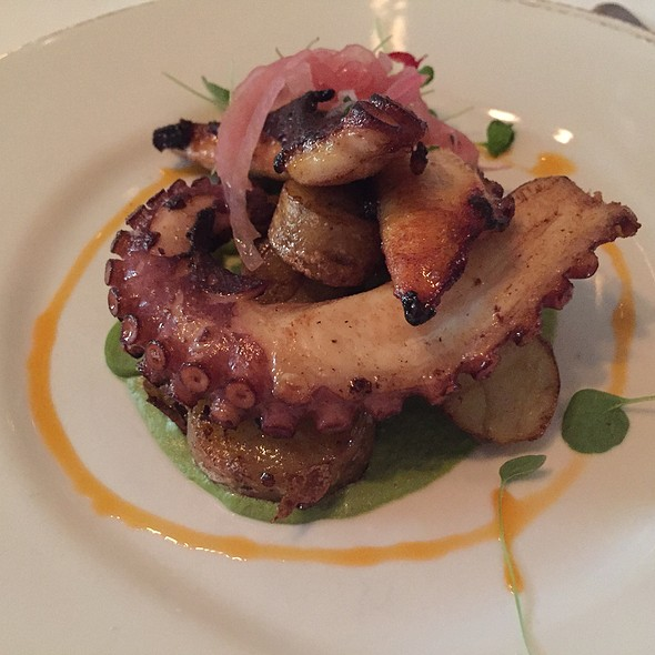 Roasted Octopus - Fascino, Montclair, NJ