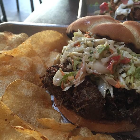 Brisket Sandwich - Southpaw BBQ, San Francisco, CA