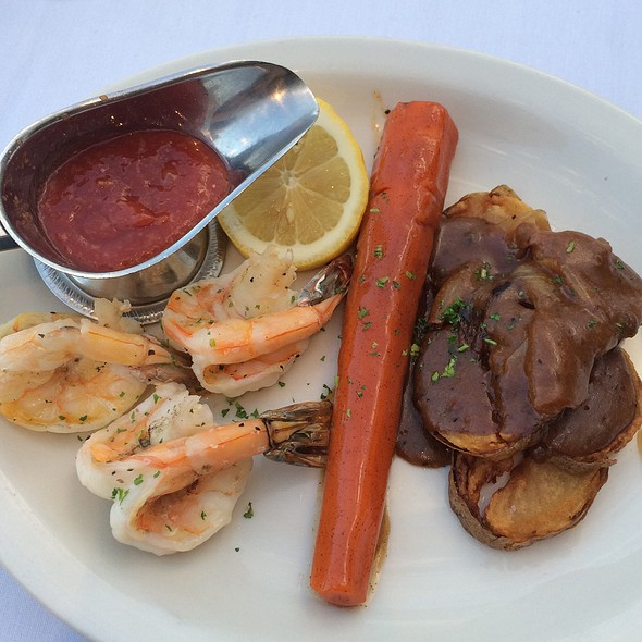 Shrimp Scampi - Bob's Steak and Chop House - Omni Tucson National Resort, Tucson, AZ