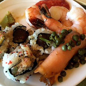 Shrimp, Sushi, And Salmon, Oh My! - Caretta on the Gulf at the Sandpearl Resort, Clearwater Beach, FL