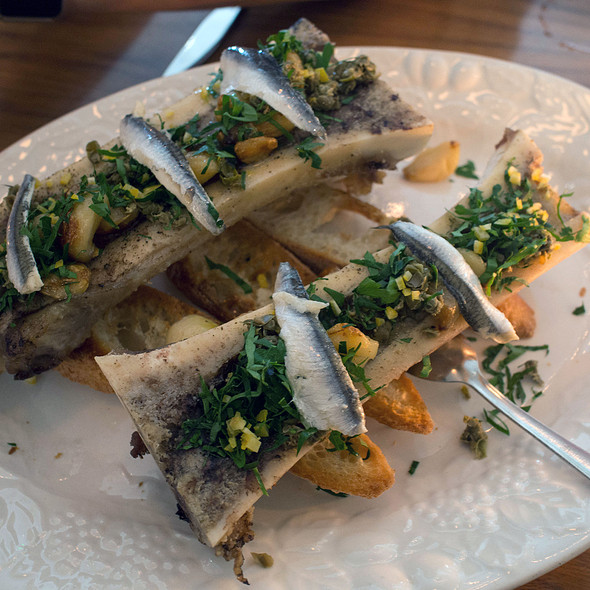 Bone Marrow Gremolata - St Jack, Portland, OR