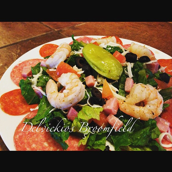 Antipasto Salad - Delvickio's - Broomfield, Broomfield, CO
