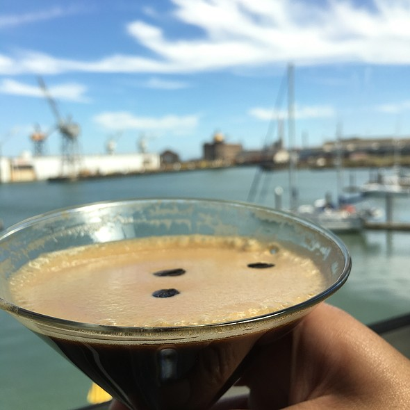 Espresso Martini - Mission Rock Resort, San Francisco, CA