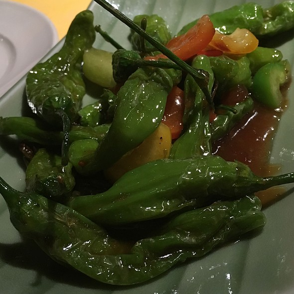 Shishitos!  - Izakaya Fu-Ga, Los Angeles, CA