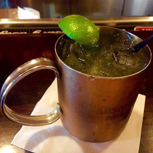 Belgium Mule Cocktail - B Too, Washington, DC