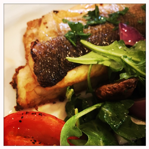 Grilled Branzino - Snack Taverna, New York, NY