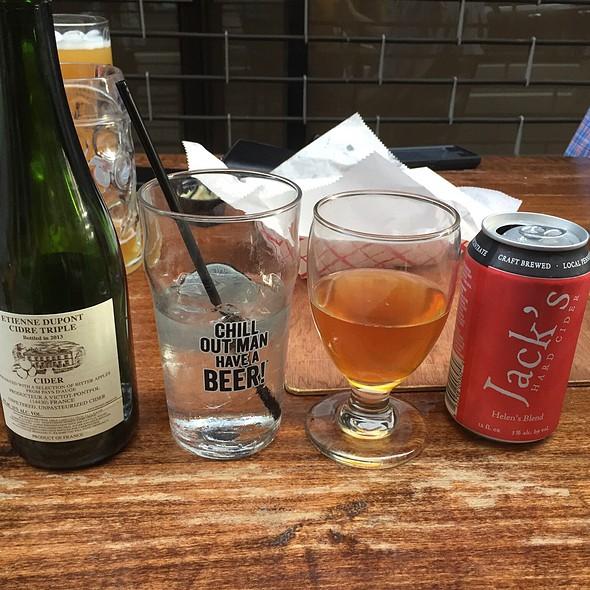 Beers - BRU Craft & Wurst, Philadelphia, PA