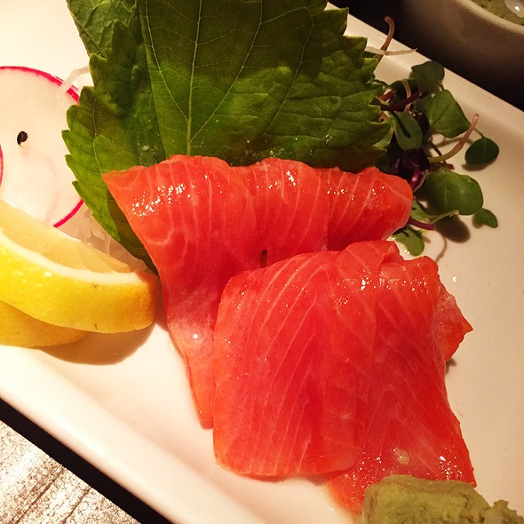 Sockeye Salmon Sashimi - Koi, West Hollywood, CA