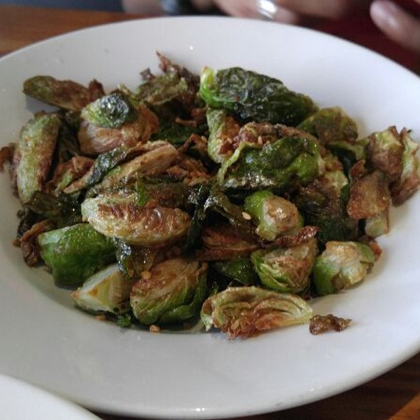 Crispy Garlic Brussels Sprouts  - Wokcano - Downtown LA, Los Angeles, CA