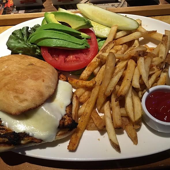 Chicken Sandwich - Peter B's Brewpub, Monterey, CA