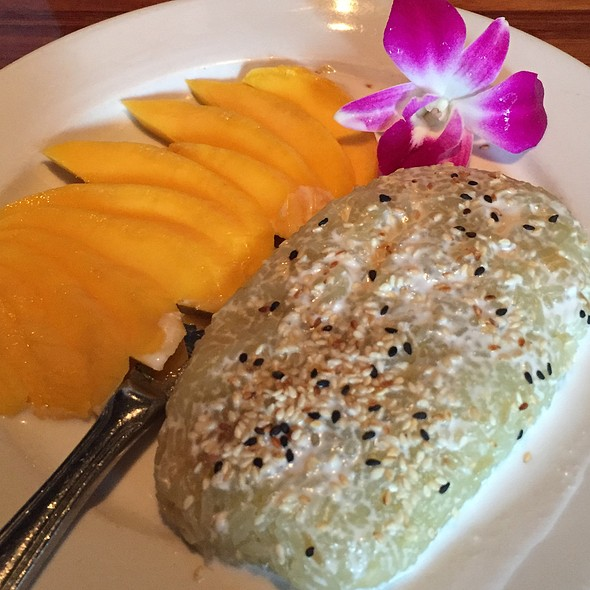 Mango Sticky Rice - Indochine Asian Dining Lounge, Tacoma, WA