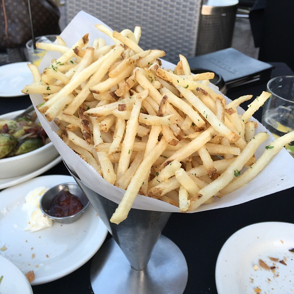 Garlic Fries - Morton's The Steakhouse - Anaheim, Anaheim, CA