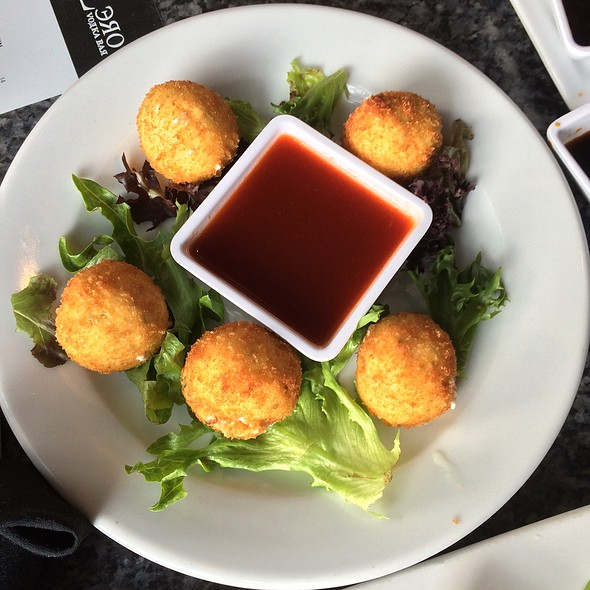 jalapeno cheese balls - Sub Zero Vodka Bar, St. Louis, MO