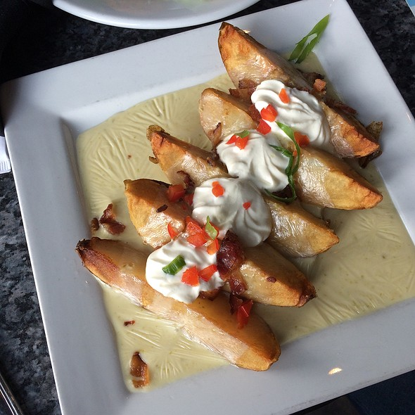 Loaded Baked Potato Wedges - Sub Zero Vodka Bar, St. Louis, MO