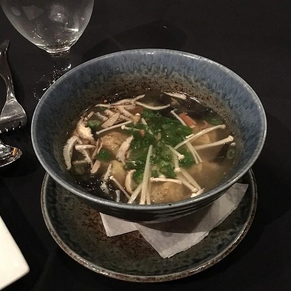 Wonton Soup - Feng Asian Bistro, Hartford, CT