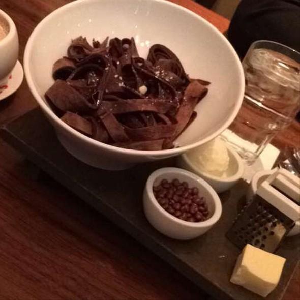Chocolate Crepe Spaghetti - Max Brenner - Philadelphia, Philadelphia, PA