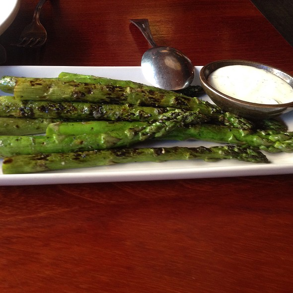 Grilled Asparagus - Dahlia Lounge, Seattle, WA
