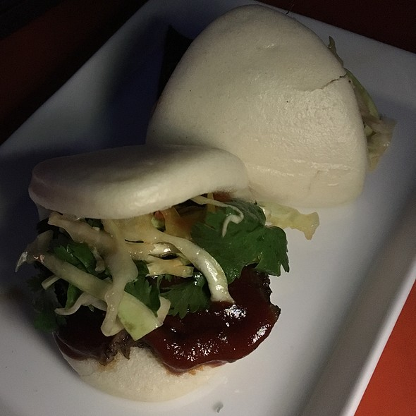 BBQ Short Rib Buns - Departure Restaurant and Lounge, Portland, OR
