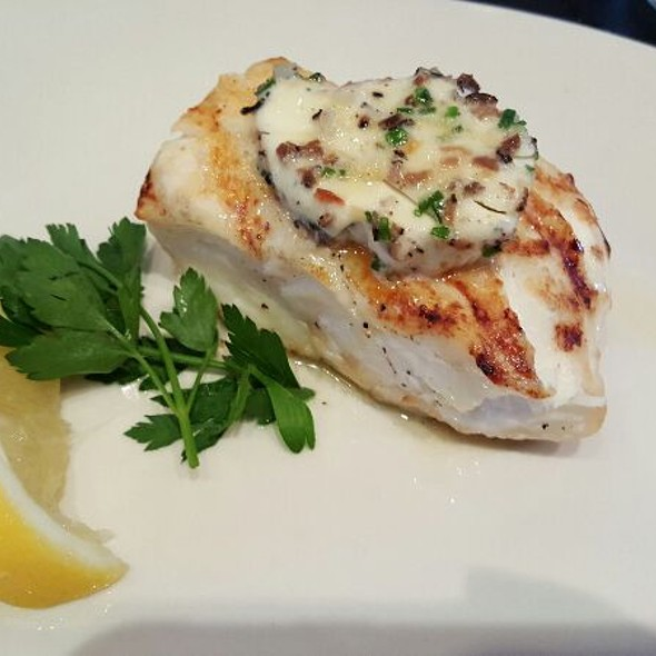 Grilled Wild Hawaiian Halibut - Oceanaire Seafood Room - Houston, Houston, TX