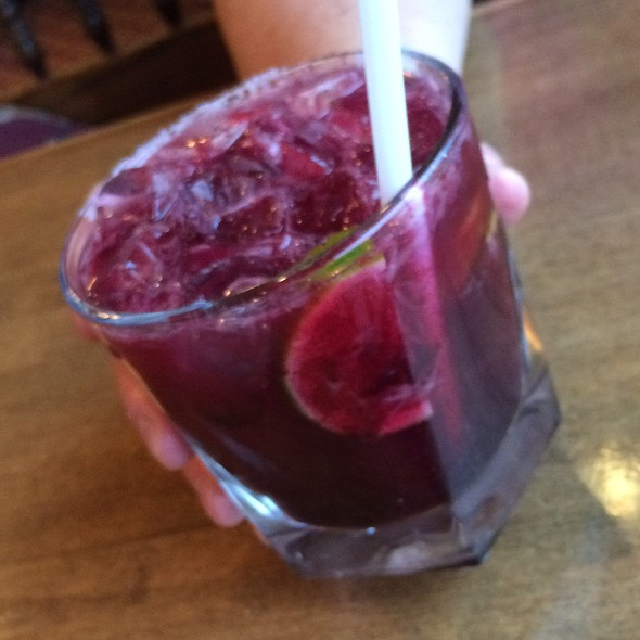Roasted Blueberry Basil Margarita - Mi Casa Mexican Restaurant, Breckenridge, CO