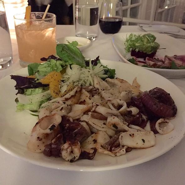 Grilled Calamari - Starr Boggs, Westhampton Beach, NY