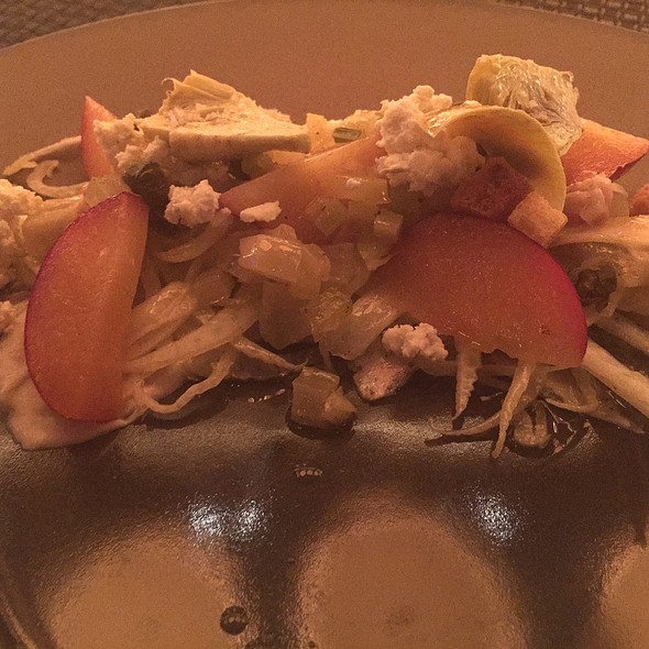 Artichoke Fennel Salad - Sage - Aria, Las Vegas, NV