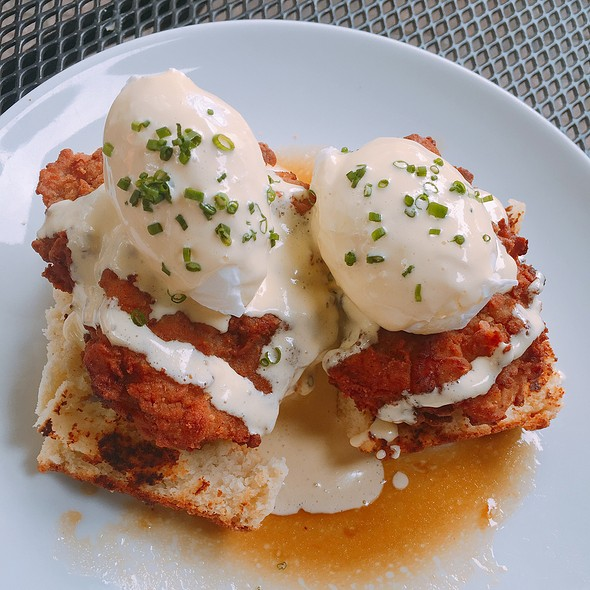 Fried Chicken Benedict - The Southern, Chicago, IL