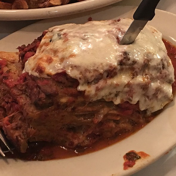 Eggplant Parmigiana - Carmine's - 44th Street - NYC, New York, NY