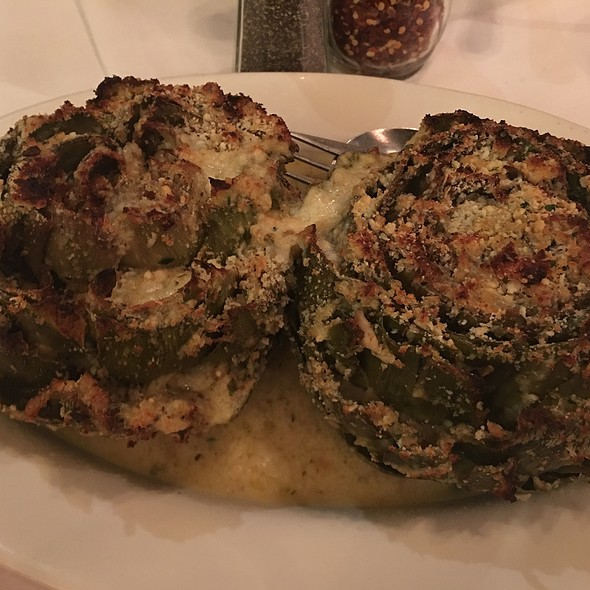 Stuffed Artichokes - Carmine's - 44th Street - NYC, New York, NY