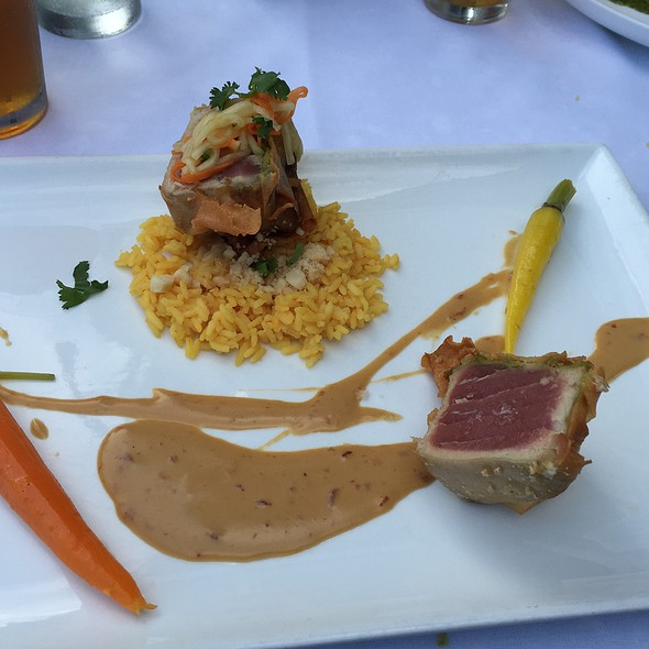 Pan Seared Tuna Appetizer - Seviche A Latin Restaurant - Highlands, Louisville, KY