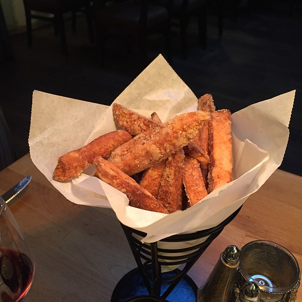 Sweet potato fries - Parkside Grille, Portola Valley, CA