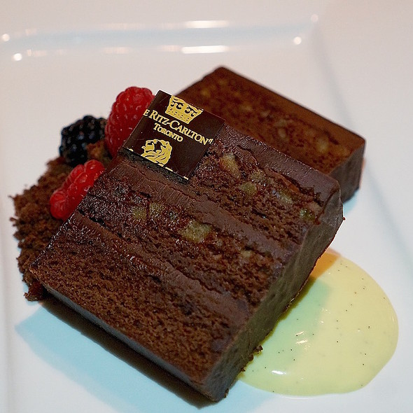 Dark Chocolate Cake - TOCA - Ritz Carlton Toronto, Toronto, ON